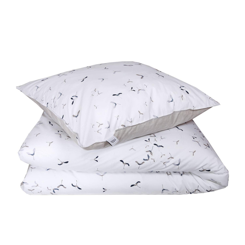 Bettwasche Aus 100 Baumwolle Renforce In Der Farbe Grau Rosa Weiss
