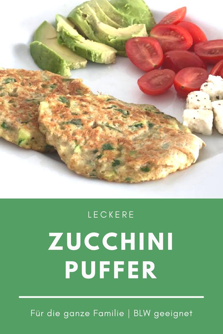 #BLW #geeignet #ZucchiniPuffer Ein leckeres Familienrezept! Zucchinipuffer, e…