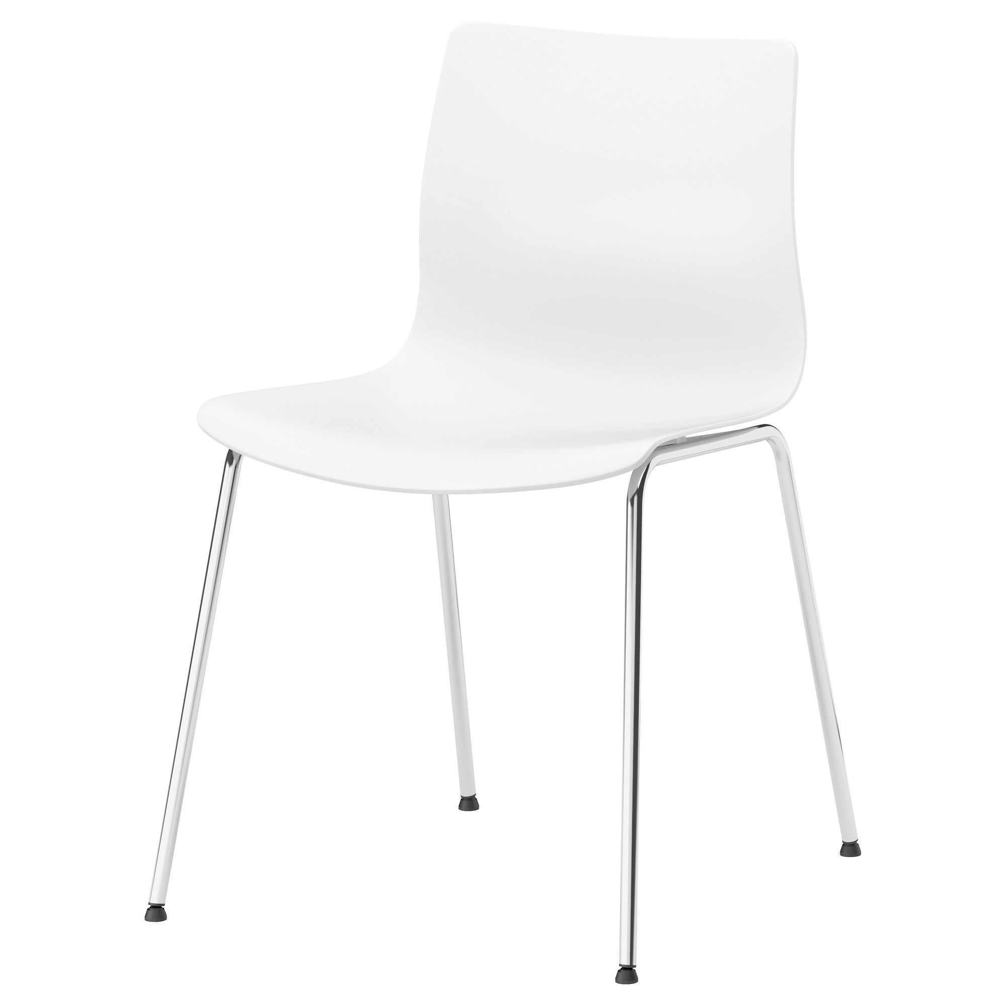 White Chair Ikea Curved Dining Erland Apartment Acquisitions