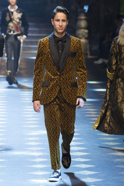 Dolce & Gabbana | Menswear - Autumn 2017 | Look 25