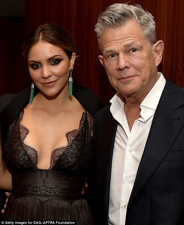Katharine Mcphee Sizzles While Out With Rumored Beau David Foster Celebs Katharine Mcphee Nick Cokas