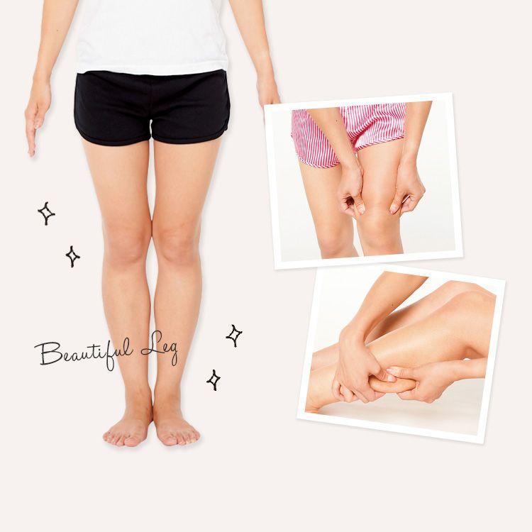 ブヨブヨ脚にさよなら!たるんだ脂肪を強制移動させる簡単マッサージ | ViVi 2015年11月号|iQON