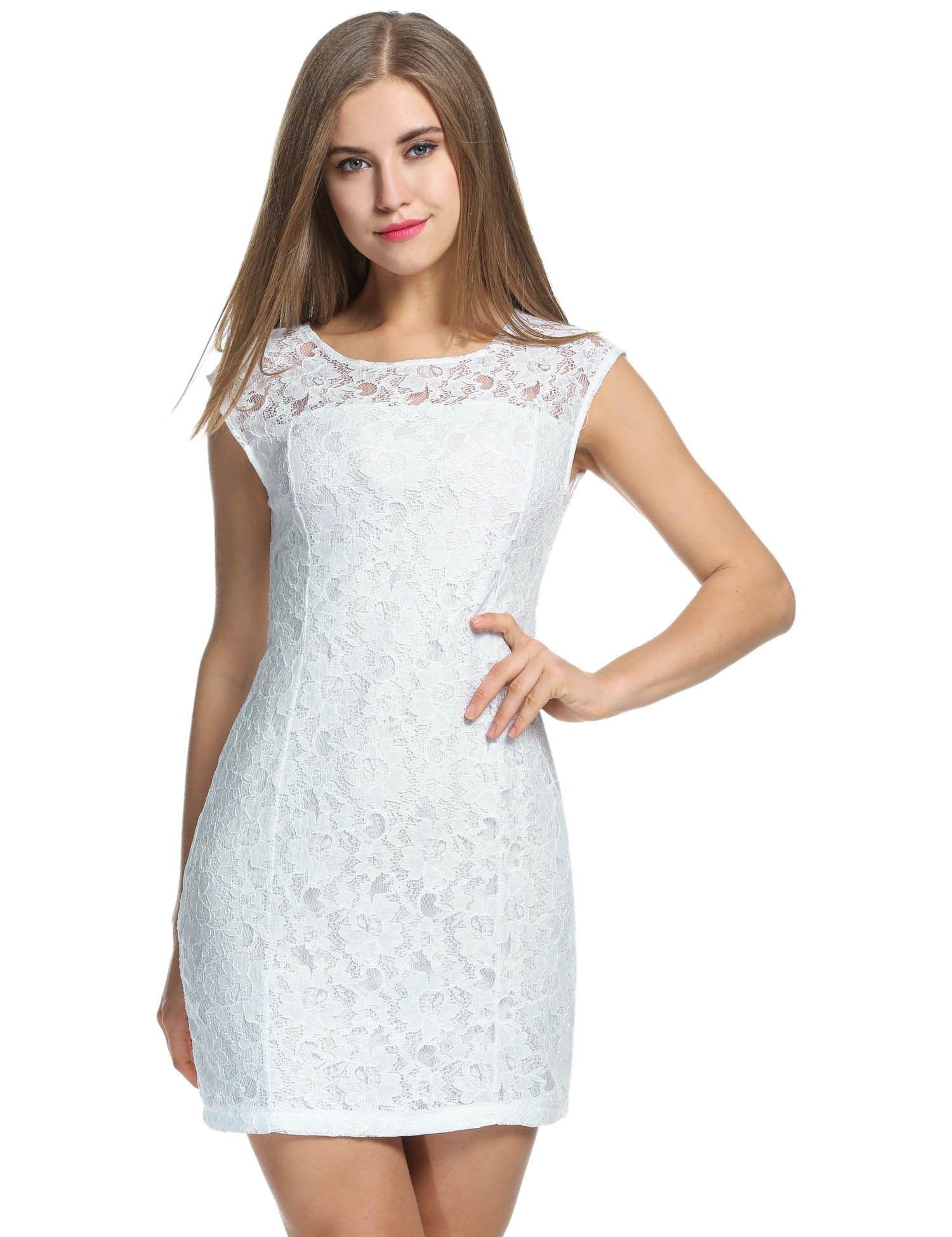 3fdf703004e43 Sleeveless Lace Bodycon Party Cocktail Party Dress | women's fashion ...