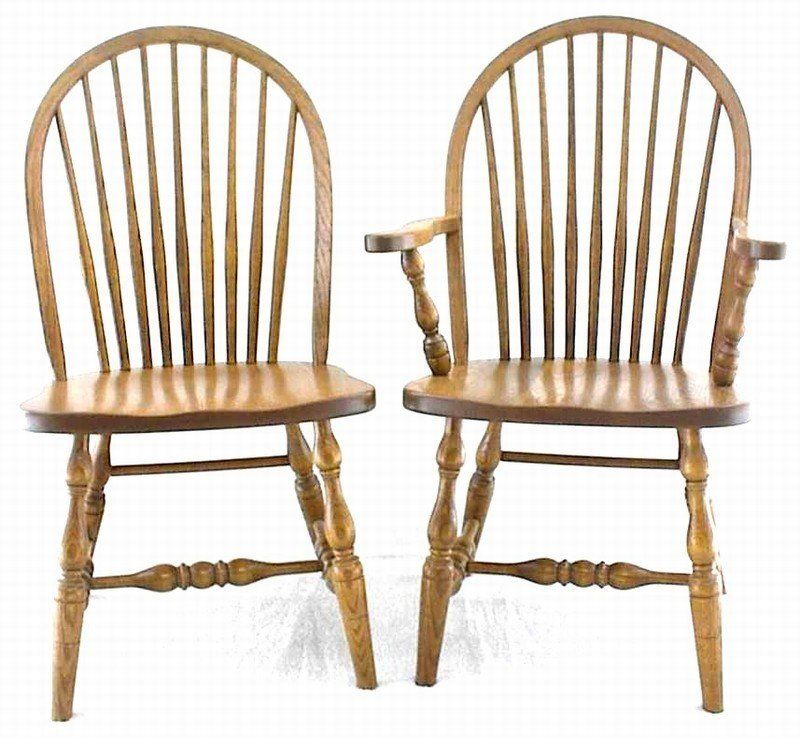 Amish Nine Spindle Windsor Dining Room Chair Windsor Style Chairs Country Style Furniture Amish Furniture