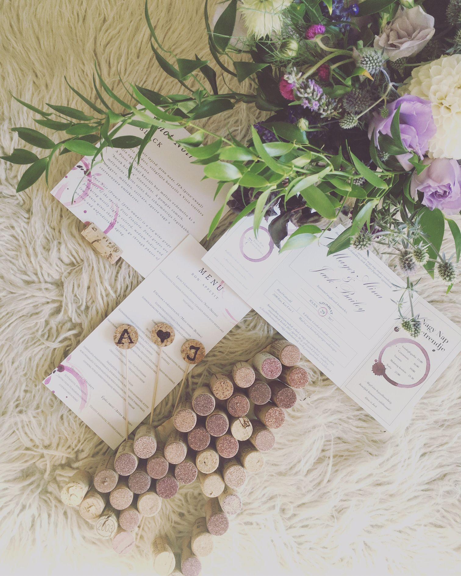boros esküvő, esküvői meghívó, bor, wine themed wedding, wedding ...