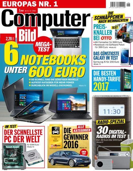 Computer Bild Germany - 23 Dezember 2016