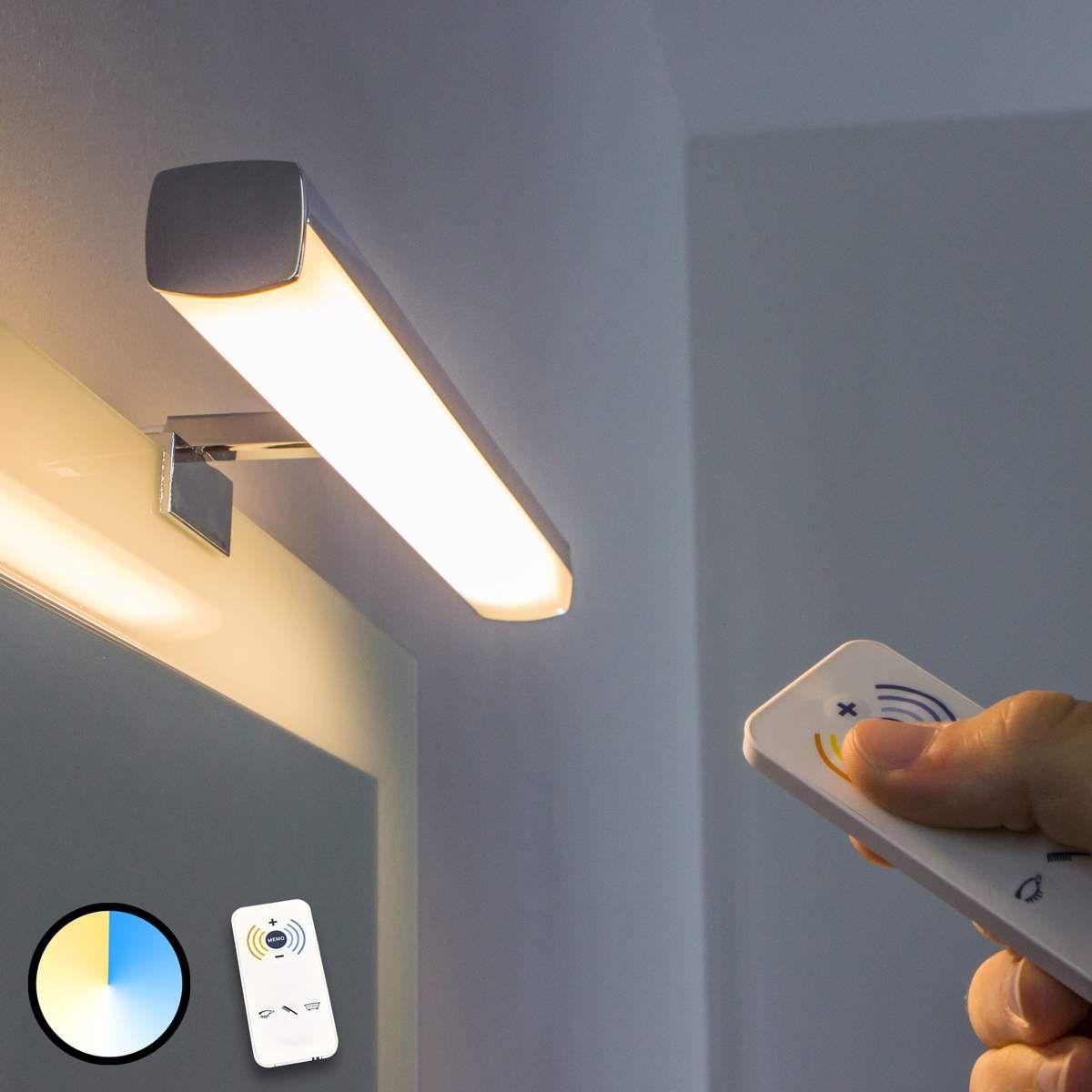 Led Spiegelleuchte Atlas Lichtfarbe Regulierbar Spiegellampe Led Badezimmer Led