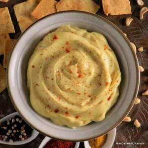 Creamy Curry Cashew Dip | GF Paleo Vegan | http://momcanihavethat.com
