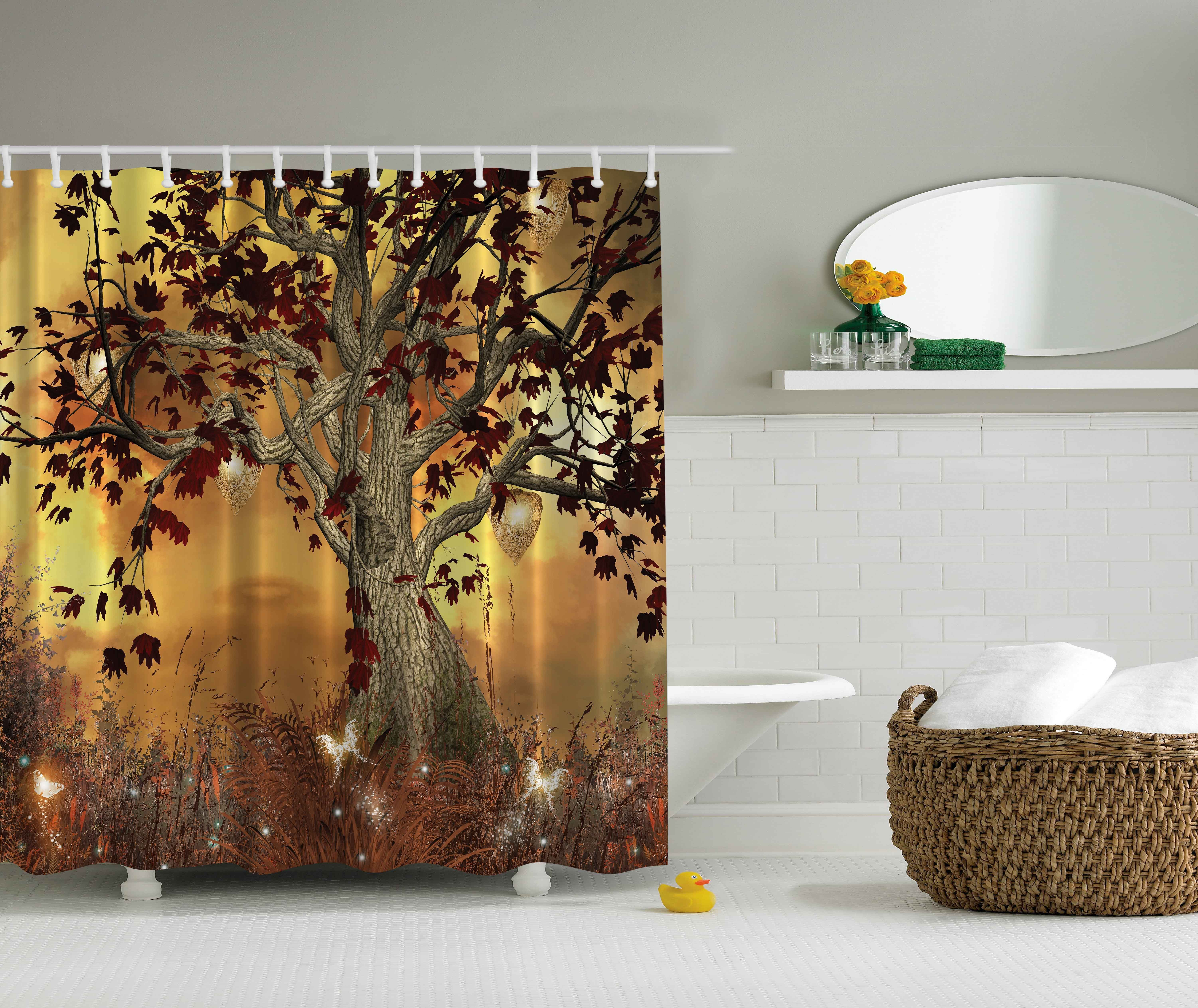 Old Twisted Tree   Shower Curtain   Water, Soap, And Mildew Resistant    Machine Washable   Shower Hooks Are Included. These One Of A Kind Shower  Curtains ...