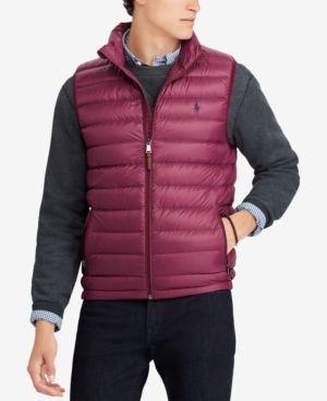 39b4258d8b78 Polo Ralph Lauren Men s Packable Down Vest - Windsor Heather L ...