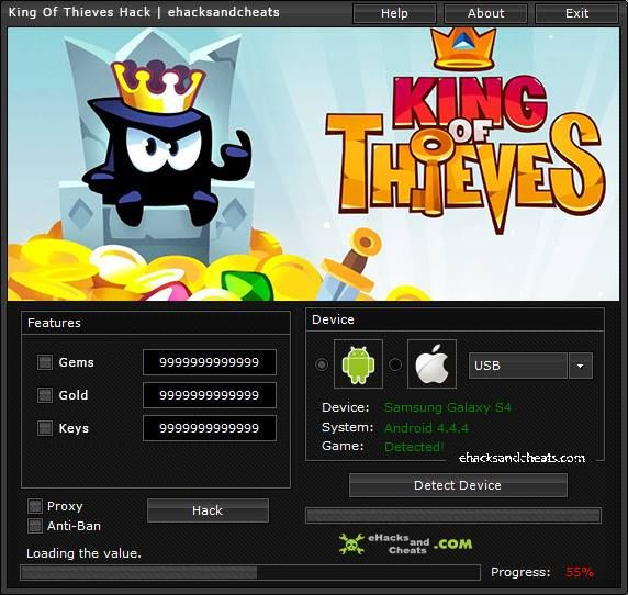 King Of Thieves Hack Download Hack Full. Free King Of