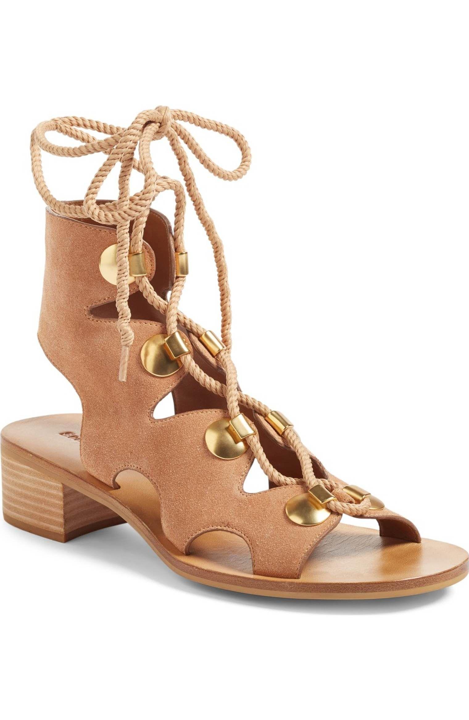 Chloé Edna flat sandals OWuvLaOy1