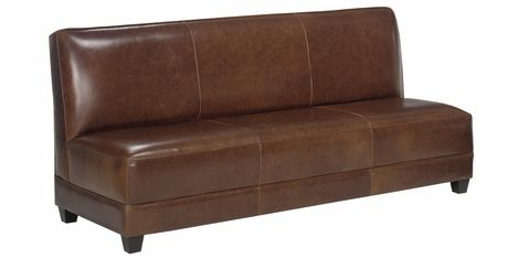 Cole Designer Style Apartment Size Armless Settee Collection