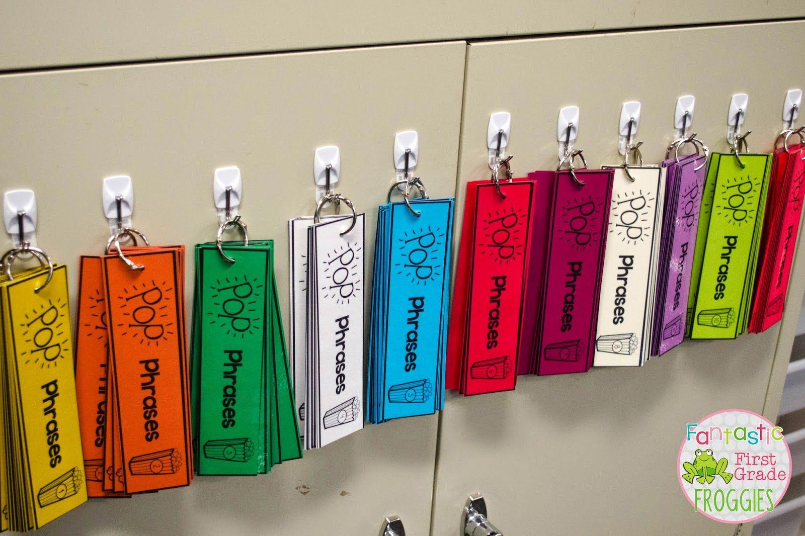 Pop Phrases Sight Word Fluency Strips