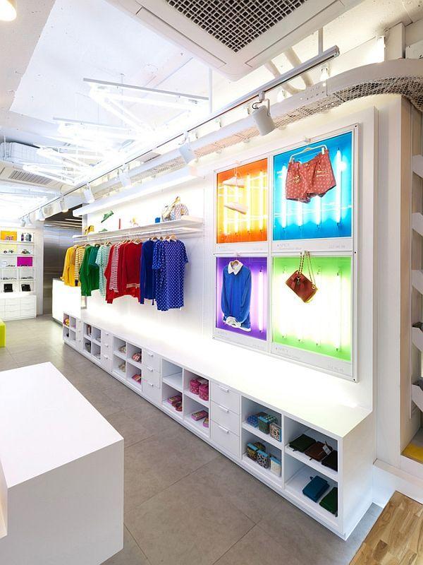Spice Fashion Colorful Shop Interior DesignShops Interior shop