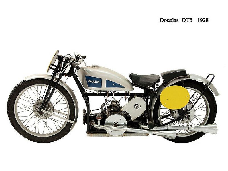 1928 Douglas Motorcycle Dt5 Model Motorcycle Scooter Motorcycle Vintage Bikes