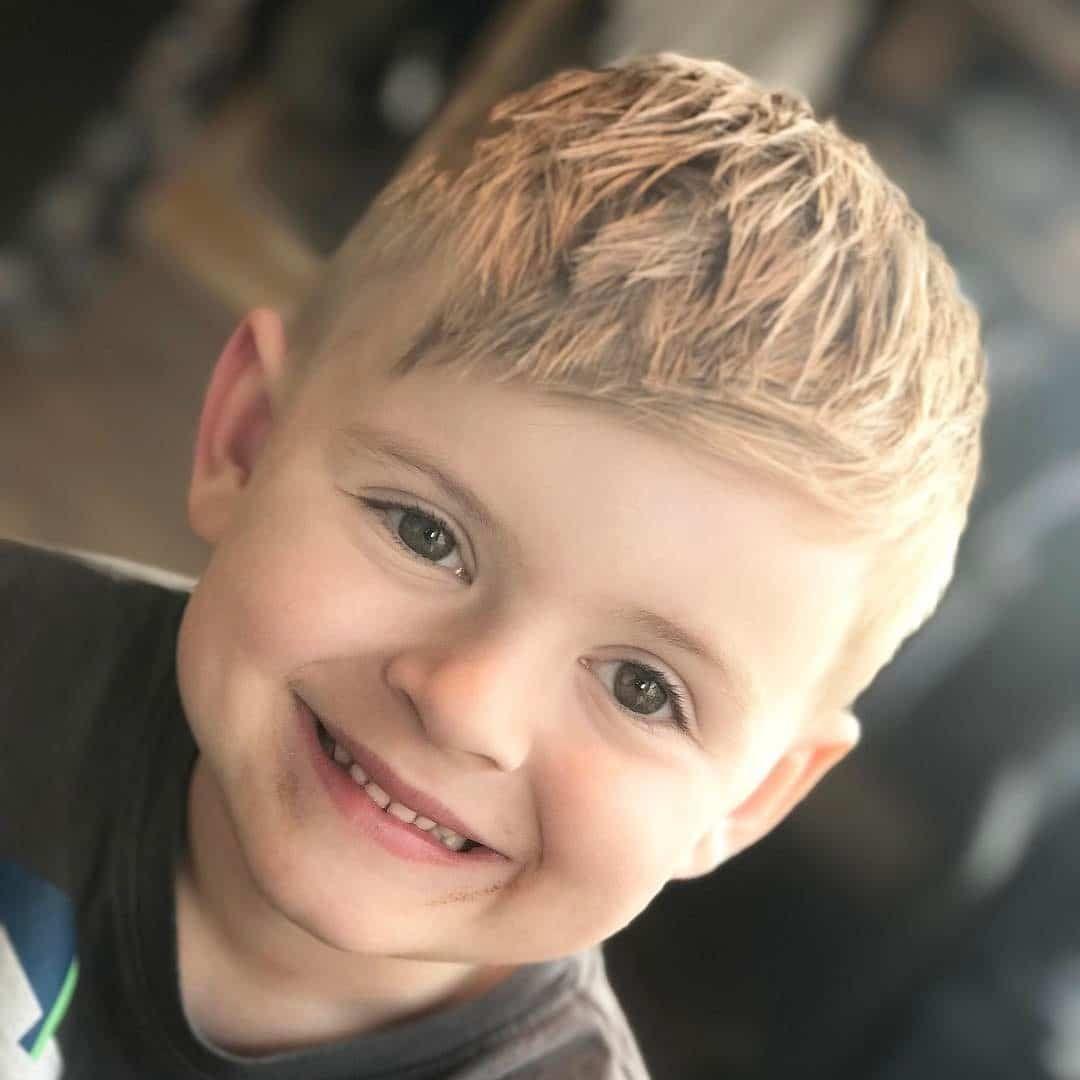 Cute Boys Hairstyles Baby Haircut Toddler Haircuts Little Boy Haircuts