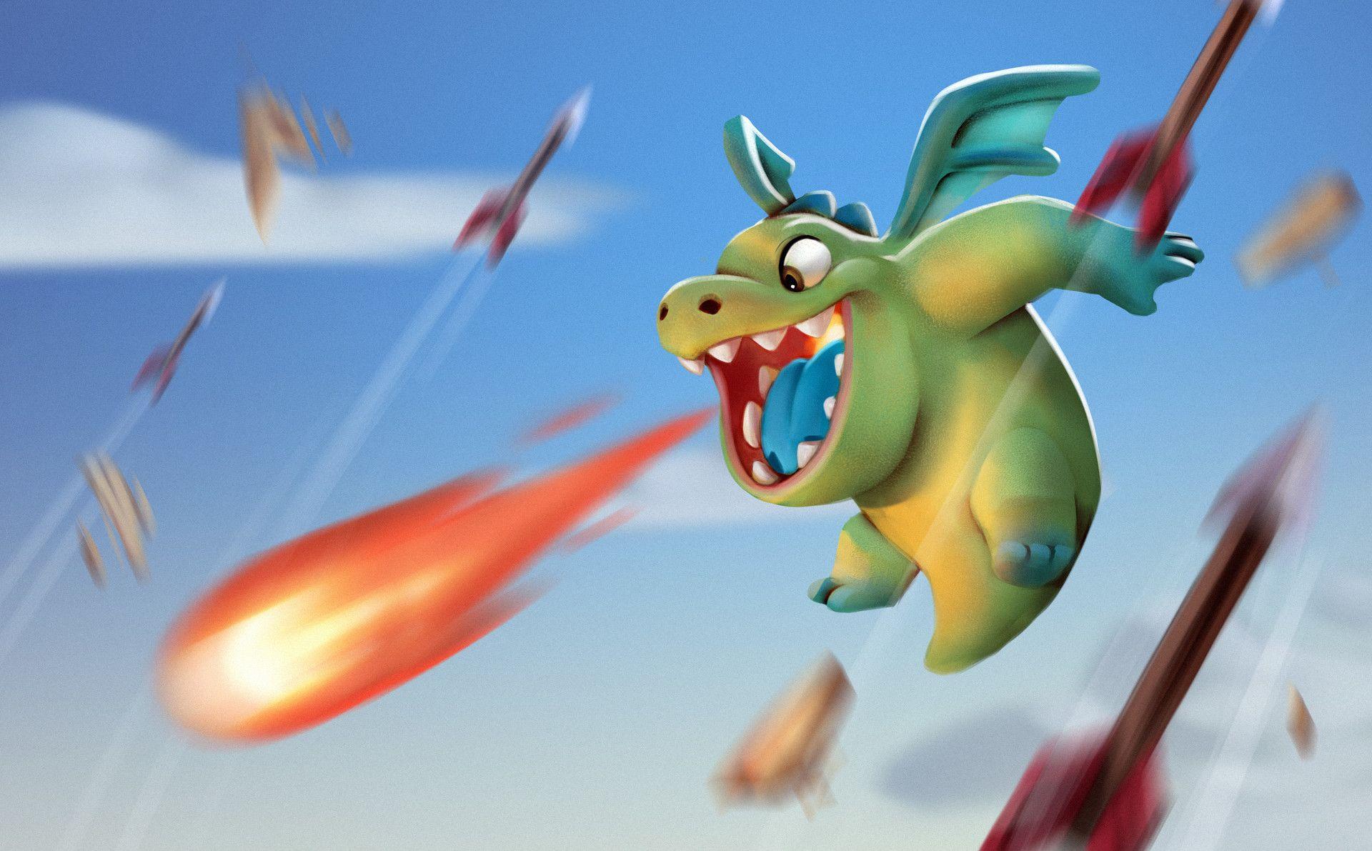 ArtStation Baby Dragon Fan Art, Guilherme Freitas | Clash