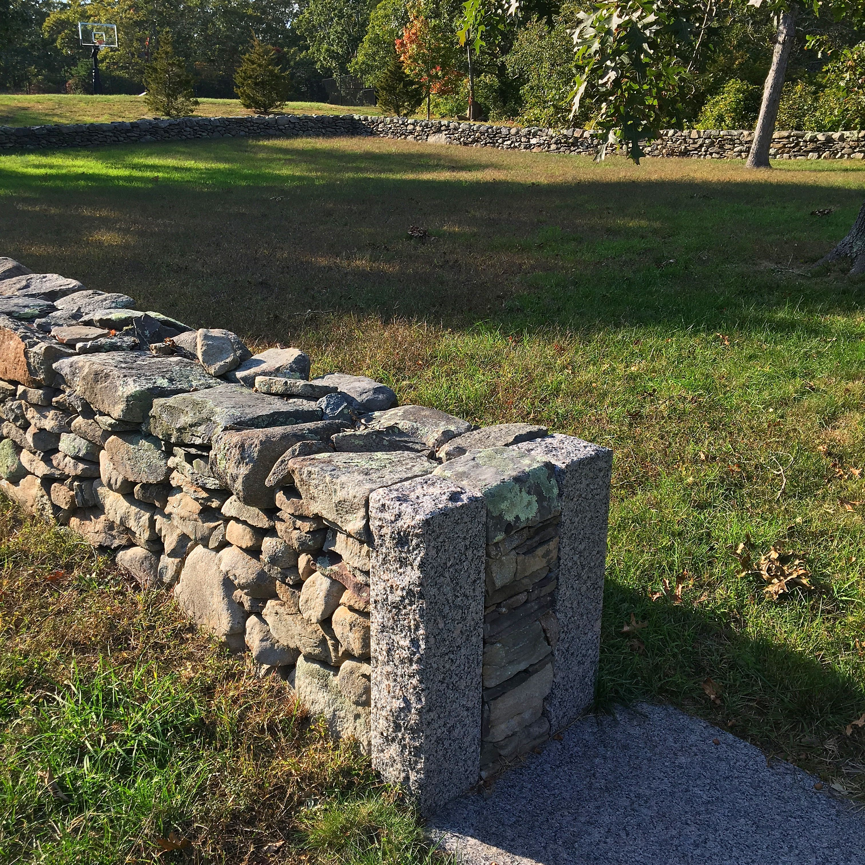 Pin By Lance Manyon On Masonry Outdoor Stone Stone Wall Dry Stone