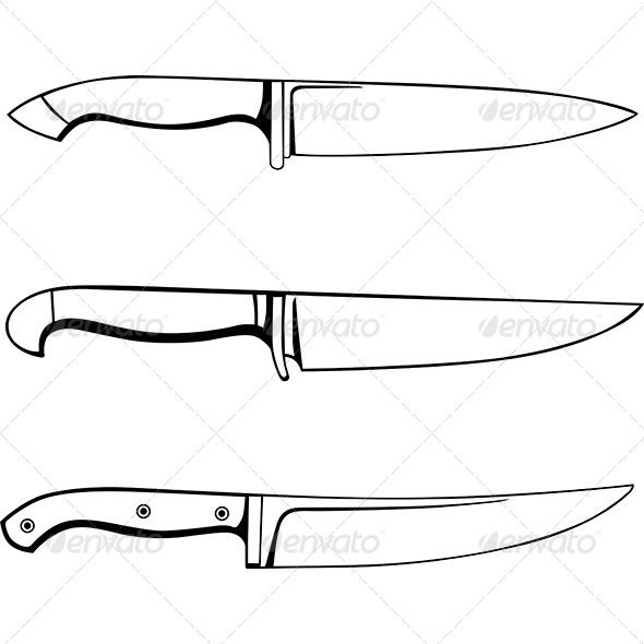 kitchen knives man made objects objects knives pinterest
