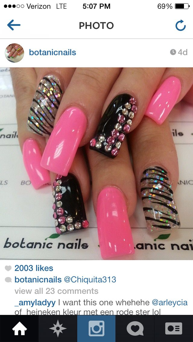 Pin by Elizabeth Brillsaiz on Pretty nails | Pinterest | Nail nail ...