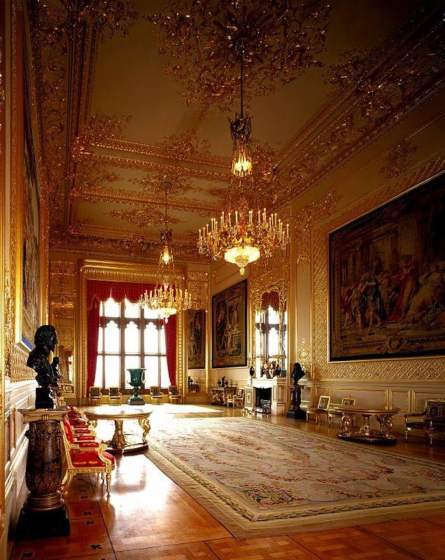 Windsor Castle Rooms | Windsor Castle - Grand Reception Room