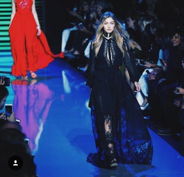 Gigi Hadid in Catwalk