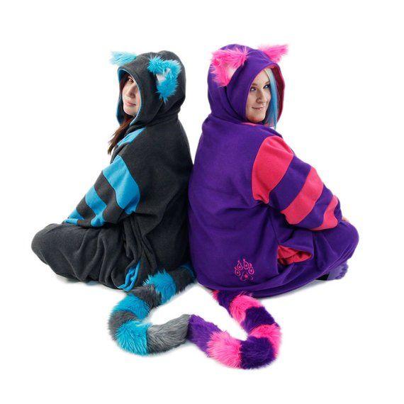 Pawstar CHESHIRE CAT KIGU - Kitty kigurumi fursuit costume cosplay Alice  wonderland pajamas onsie an 970cf439d5cb0