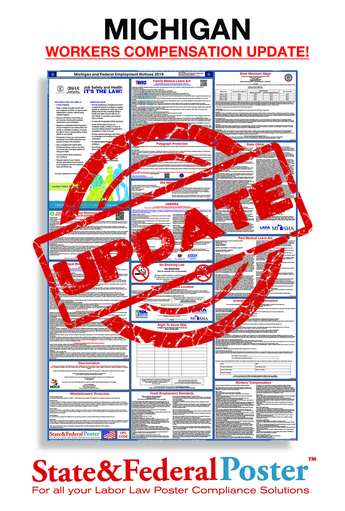 NEW Michigan Workers Compensation Update! AVAILABLE NOW AT