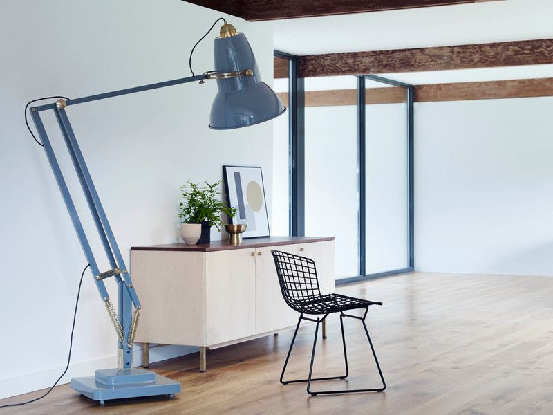 Anglepoise Original Giant Brass Floor Lamp
