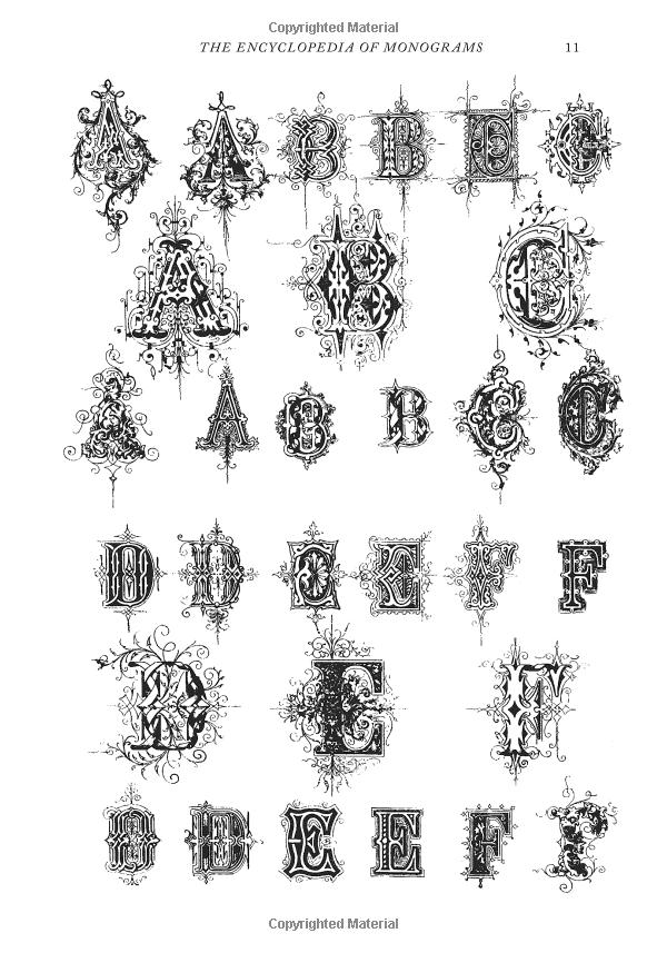Robot Check Monogram Calligraphy Alphabet Art