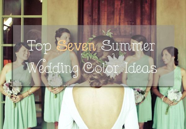 Hot Summer Wedding Ideas