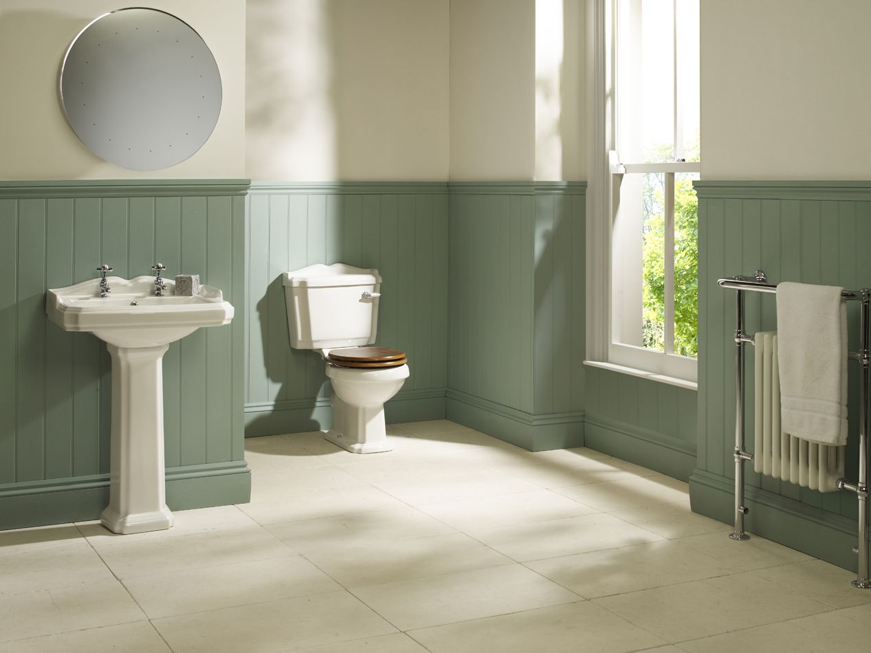 35 best traditional bathroom designs edwardian bathroom for Bathrooms in style