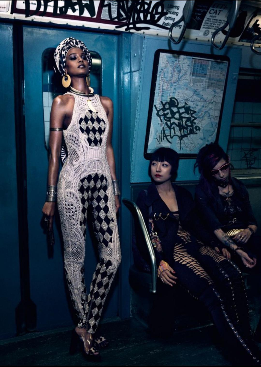 Liya Kebede by Mikael Jansson for Vogue Japan April 2013