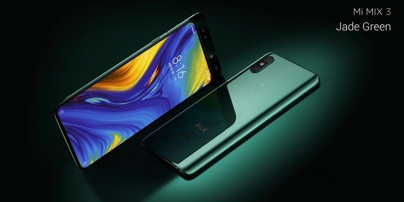 Xiaomi Mi Mix 3 Unveiled With 10gb Of Ram And Slideout Front Cameras Xiaomi Dual Sim Samsung Galaxy Phone