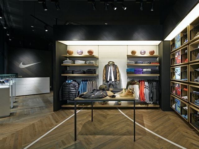 Japanese design office Specialnormal completed in Chiba the biggest Nike  shop dedicate to basketball in Japan, architecturally translating all the  typical ...