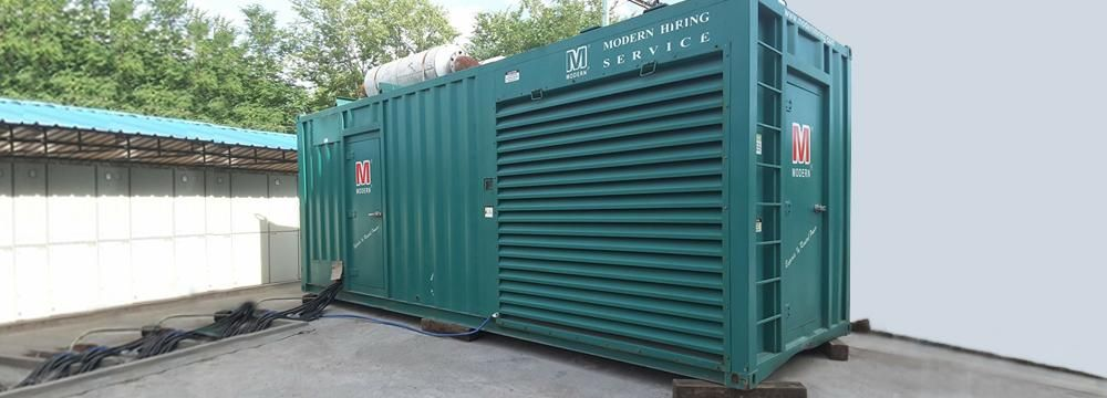Modern Hiring Service Mhs Is Largest Company In The Business Of Supplying Dg Based Rental Power Packages T Rent To Own Homes Diesel Generators Rent