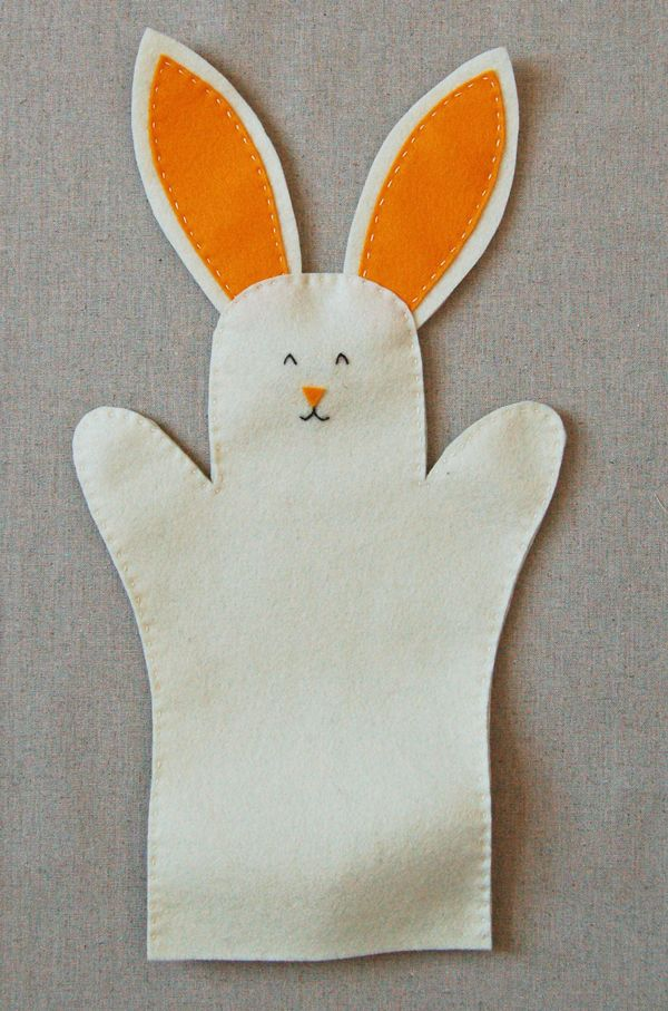 Bunny Hand Puppets | The Purl Bee