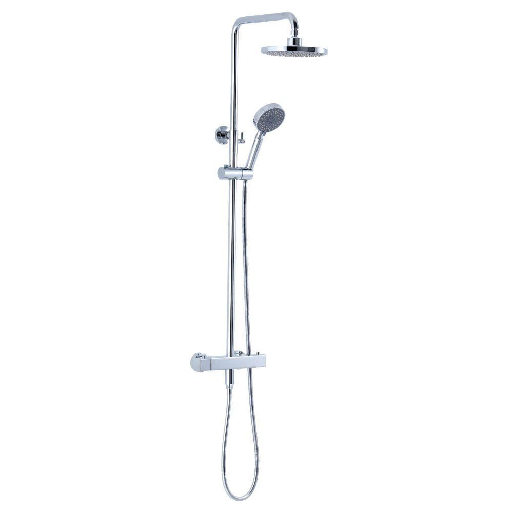 CRW 2 in 1 Thermostatic Shower System Shower mixer, Handheld ...