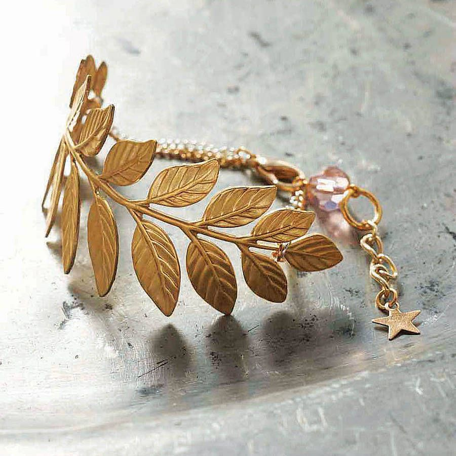 autumn bracelet by bonbi forest | notonthehighstreet.com