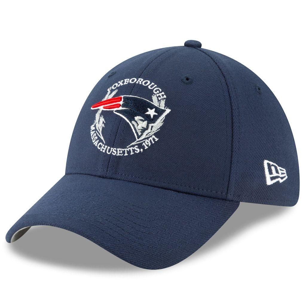 6e05f4c1 Adult New Era New England Patriots 39THIRTY Draft Flex-Fit Cap, Size ...