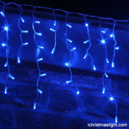 Blue Icicle Light Manufacturer In China Led Icicle Lights