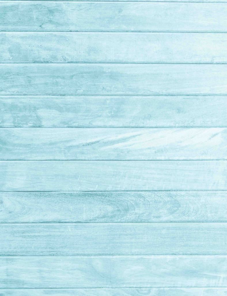 Lighter Sky Blue Wood Floor Texture Backdrop For Baby Photography