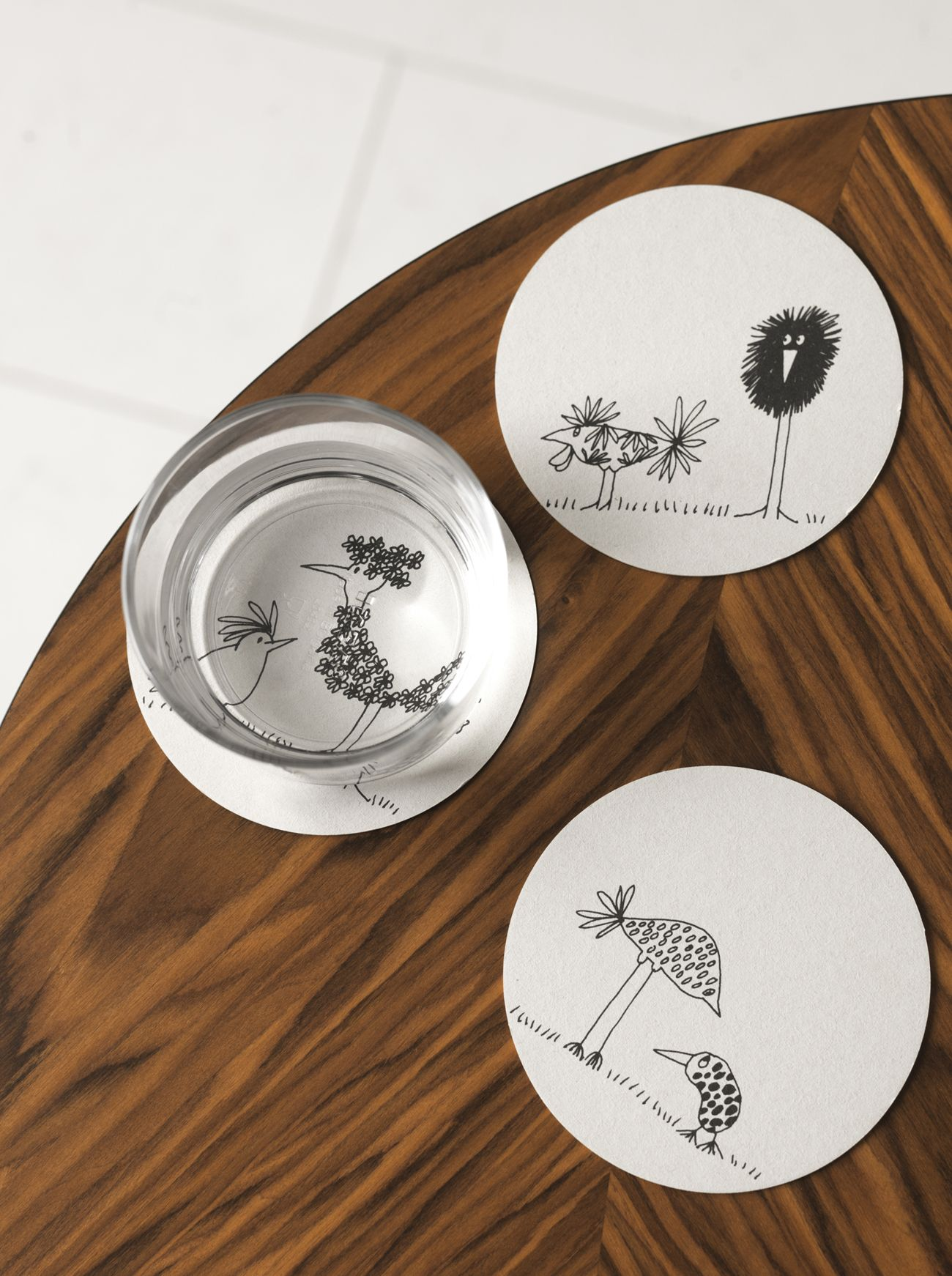 sous verres en carton 0 99 les 10 pi ces r f ikea onskedrom d co. Black Bedroom Furniture Sets. Home Design Ideas