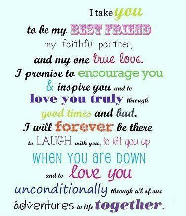Quotes Wedding Vows By Quotesgram