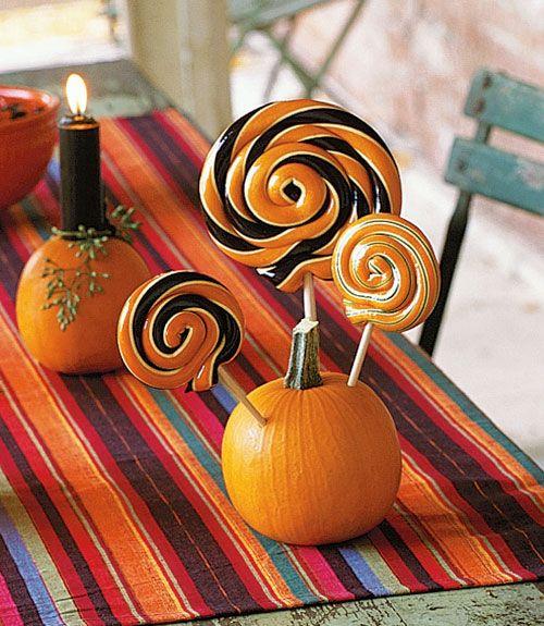 Halloween lollipops
