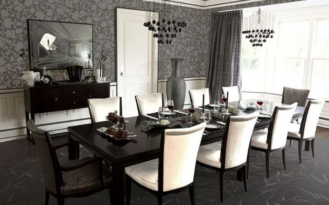 Ideas para decorar comedores elegantes comedores de for Comedores elegantes