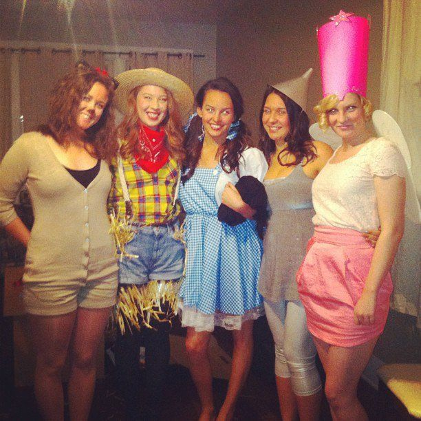 60 Creative Girlfriend Group Costumes The Wizard of Oz  sc 1 st  Pinterest & Ghouls Gone Wild! 60 Creative Girlfriend Group Costumes | Costumes ...