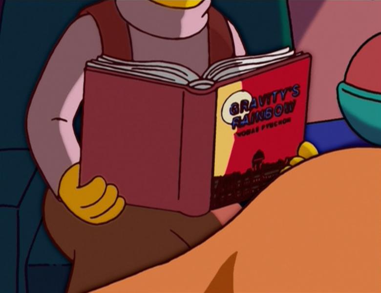Thomas Pynchon- Arcoiris de Gravedad-Simpsons
