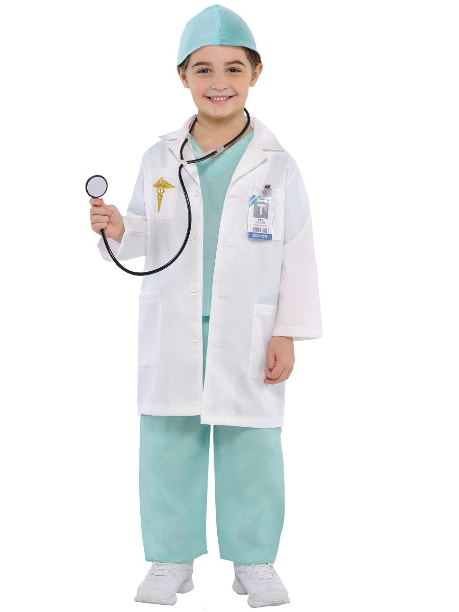 Kids Costumes & Accessories The Best Children Kid Girl Boy Halloween Costumes Surgeon Sets Doctor Cosplay Stage Wear Clothing Party For Carnival Purim Full Outfit Be Novel In Design Girls Costumes